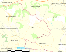 Map commune FR insee code 31038.png