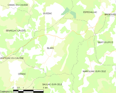 Map commune FR insee code 46031.png