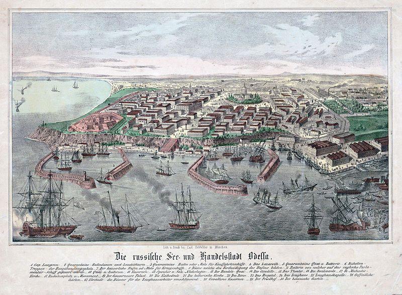 File:Map of Odessa 1850.jpg