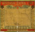 Map of the Wisconsin Central Line and connections. LOC 98688860.tif