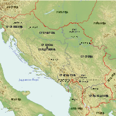 Map of the republics of Yugoslavia mk.svg