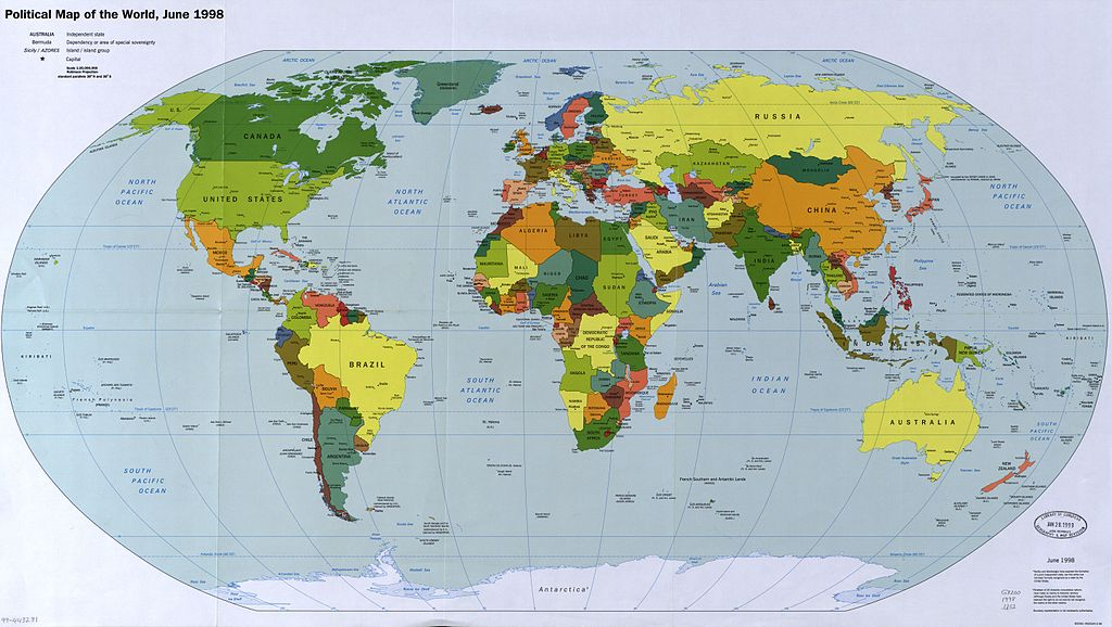 Click Here To See A Map Of The World