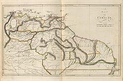 Provincia de Venezuela y las Guayanas
