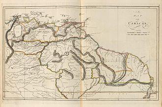 Venezuela Province - Provincia de Venezuela y las Guayanas