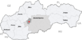 Map slovakia ziar nad hronom.png