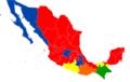 Mapa Electoral Mexico Marzo 2012.png
