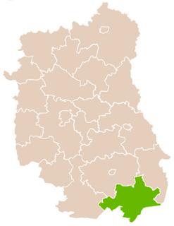 Tomaszów Lubelski County County in Lublin, Poland