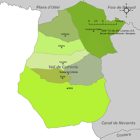 Municipalities of Valle de Cofrentes