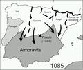 Mapa de la reconquesta dels almoràvits.png