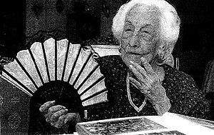 María Capovilla - María Esther de Capovilla at age 115 in 2005