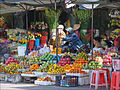 Marchands de fruits et de fleurs (Long Xuyen, Vietnam) (6635502567).jpg