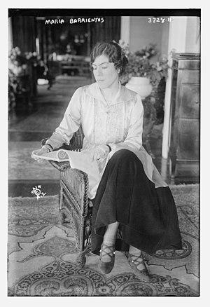 Barrientos, María (1884-1946)