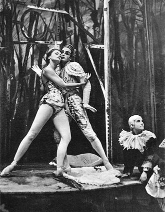 Luigi Nono - Maria Krzyszkowska and Witold Gruca in a 1962 production of Nono's ballet, Il mantello rosso (1954).