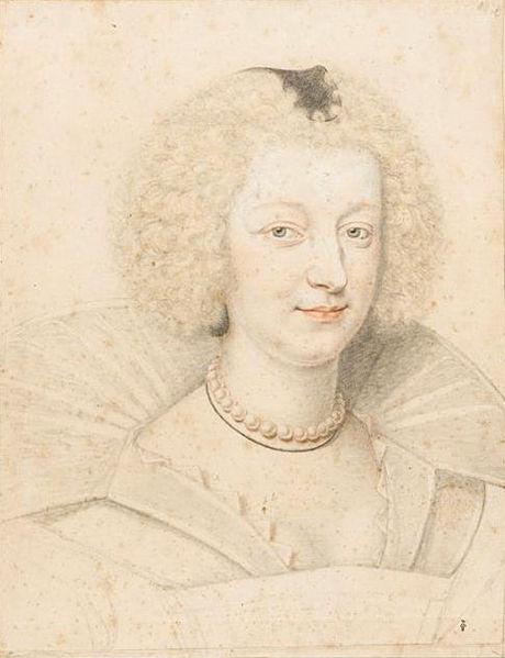 File:Marie de Lorraine Duchess of Guise Dumonstier 1627.jpg