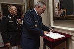 Marine Barracks Washington Evening Parade, June 17, 2016 160617-M-EL431-010.jpg