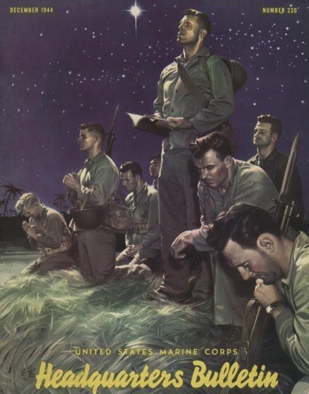Marines at Prayer by Alex Raymond