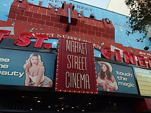 Market Street Cinema - Market Street Cinema in 2012