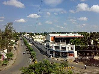 Baramati - Image: Market Yard Rd, Baramati