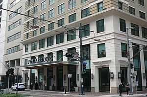 JW Marriott Downtown Houston - JW Marriott Downtown Houston, Main Street side