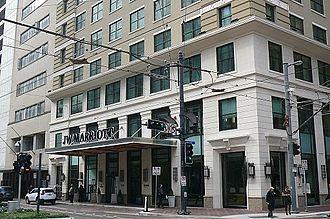 JW Marriott Downtown Houston - JW Marriott Downtown Houston, Main Street side