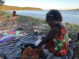 Marrnyula Mununggurr Indigenous Australian painter