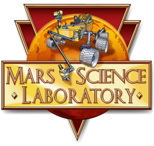 Логотип Mars Science Laboratory