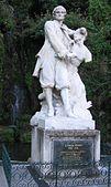 Escultura de Pierre Puget, Cours Pierre-Puget, Marsella