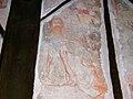 Marton church, mural, detail 4.JPG