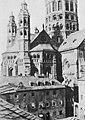 Marville, Charles - Südwestliche Ansicht des Mainzer Doms (Zeno Fotografie).jpg