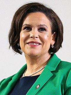 Mary Lou McDonald President of Sinn Féin