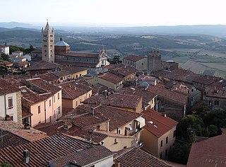 Massa Marittima Comune in Tuscany, Italy