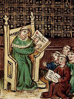 Master and scholars - 1464 - L'image du Monde