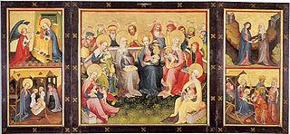 Ołtarz Rodziny Marii (dzieło Mistrza Rodziny Marii Starszego)