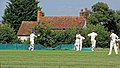 Matching Green CC v. Bishop's Stortford CC at Matching Green, Essex, England 35.jpg