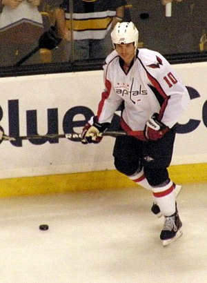 Matt Bradley - Bradley while with the Washington Capitals