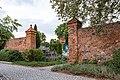 Mauergasse, Stadtmauer, Durckgang bei Münze Delitzsch 20180813 001.jpg