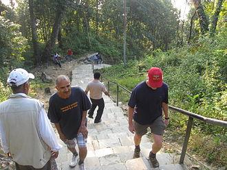 Maula Kalika - Hiking is popular at Maulakalila