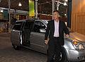 Mauricio Macri llega al CMD para la habitual reunión de gabinete porteño (7048588827).jpg