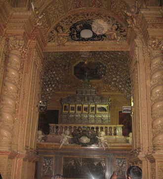 Basilica of Bom Jesus - Relics of St. Francis Xavier