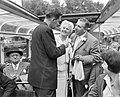 Max van Praag en Annie de Reuver worden geintervieuwd tijdens een rondvaart door, Bestanddeelnr 909-6300.jpg