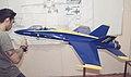 McDonnellDouglas FA-18 Hornet BlueAngels model.jpg