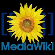 Logo MediaWiki logiciel wiki gratuit libre et open source