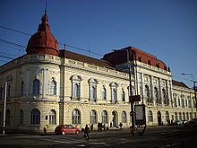 The Faculty of Medicine and Pharmacy Oradea.
