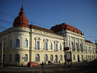 Oradea - The Faculty of Medicine