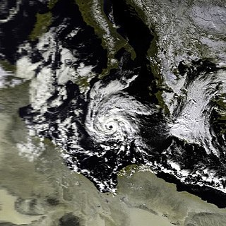 Mediterranean tropical-like cyclone Hurricane-like storms in the Mediterranean Sea