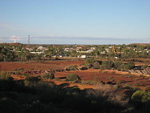 Meekatharra, Western Australia - View of Meekatharra from the local lookout