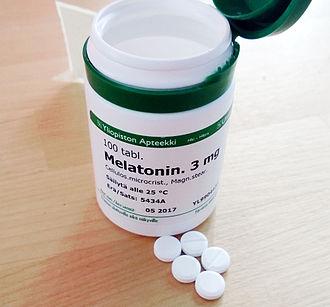 Melatonin - University of Helsinki pharmaceutical laboratory prepared melatonin available upon prescription