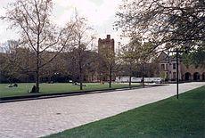 Melbourne University south lawn