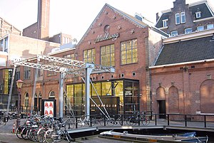 Music venues in the Netherlands - The main entrance of the Melkweg