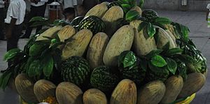 Melon Day - Melons and watermelons in Ashgabat